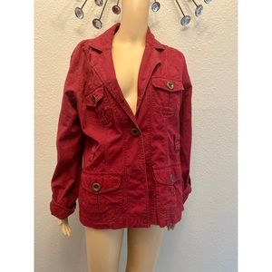 Maurices red Jean jacket